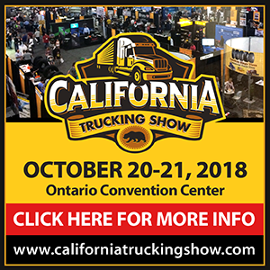 California Trucking Show - October 20 - 21, 2018 at Ontario Convention Center, Ontario, California