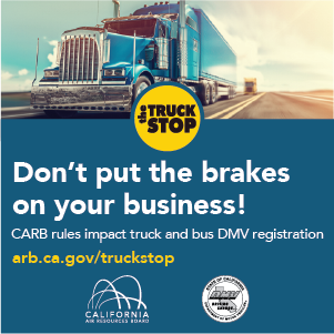 CARB rules impact truck and bus DMV registration - click here